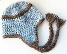 I love a crochet hat for my little man