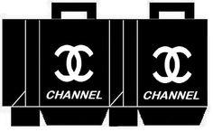 Cajitas de Chanel para Imprimir Gratis. | Ideas y material gratis para fiestas y celebraciones Oh My Fiesta!