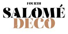 Typeface Love: Salome