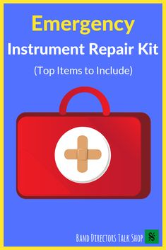 Everything you need for your emergency instrument repair kit can be found in this article! Be prepared for spring trips, football games, and performances. Music Lesson Plans, Music Lessons, Music Education, Music Teachers, Tune Music, Texas Music, Band Director, Rhythm Games, Music Worksheets