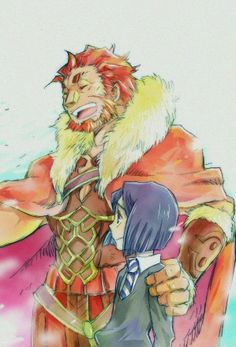 Fate/Zero- Waver and Rider(Alexander the Great)