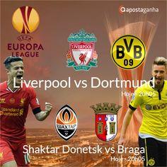 Confere os prognósticos para a Liga Europa...  http://www.apostaganha.com/2016/04/13/prognostico-apostas-liverpool-vs-dortmund-liga-europa-0911/  http://www.apostaganha.com/2016/04/14/prognostico-apostas-liverpool-vs-dortmund-liga-europa-6453/  http://www.apostaganha.com/2016/04/14/prognostico-apostas-liverpool-vs-dortmund-liga-europa-99/  http://www.apostaganha.com/2016/04/14/prognostico-apostas-shaktar-donetsk-vs-braga-liga-europa-43/  Quer 100 euros de bonus, streams dos maiores eventos e…