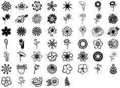 Janda Flower Doodles Regular part of the Janda Flower Doodles family. get details, licenses, language support, glyph maps and webfont demo here. Doodle Fonts, Doodle Lettering, Retro Flowers, Simple Flowers, Doodle Drawings, Art Drawings Sketches, Simple Flower Drawing, Designs Henna, Doddle Art