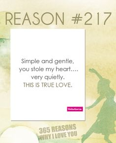 373 Best 365 REASONS WHY I LOVE YOU images in 2018 | Reasons
