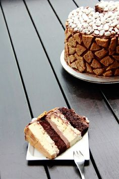 S'mores Cheesecake Cake – Heart Healthy Recipes