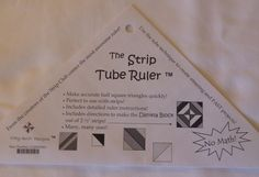 Strip Tube Ruler Makes Quilting Faster and Easier Fast Shipping, T192