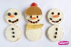 Zoek je nog een leuke snack voor het thema winter? Mmmmmm deze sneeuwmannen zijn om te smullen zo lekker!