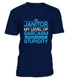 Janitor T-Shirt - Job Shirts - Perfect G  Funny Cancer T-shirt, Best Cancer T-shirt