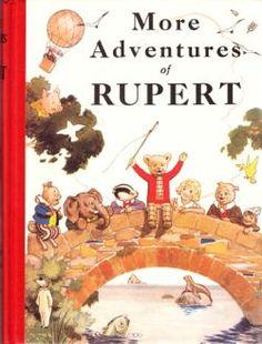 Rupert Bear - Rupert in Print - 1937 1970s Childhood, My Childhood Memories, Winnie The Poo, Schooldays, Reading Library, Paddington Bear, English Artists, Christening Gifts, Christmas Books