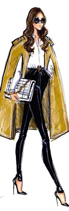 i l l p o p {fashion illustration} Hayden Williams : ? i l l p o p {fashion illustration} Hayden Williams Moda Fashion, New Fashion, Trendy Fashion, Fashion Art, Fashion Models, Girl Fashion, Fashion Women, Fashion Outfits, Fashion Clothes