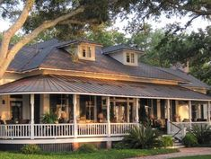 Best house plans with wrap around porch balconies dream homes 27 ideas Brick Porch, House Front Porch, Porch House Plans, Porch And Balcony, Cottage House Plans, Country House Plans, Cottage Homes, Farm House, Cabin Plans