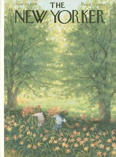 The New Yorker - Saturday, June 20, 1959 - Issue # 1792 - Vol. 35 - N° 18 - Cover by : Edna Eicke
