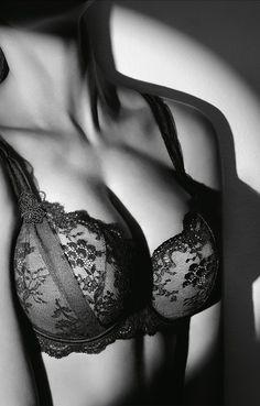 ~ AUBADE À L'AMOUR Nuisette Noir | Aubade ~ #sensuelle #lace_bra #black_lace #dessous_sexy