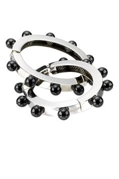 I think this would look cool next to a spike bracelet Wasteland Weekend, Spike Bracelet, Bangles, Bracelets, Look Cool, Lace Dress, Glass Beads, Thoughts, Fun
