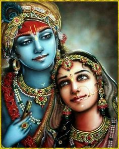 Image may contain: 2 people, closeup Señor Krishna, Radha Krishna Love Quotes, Krishna Leela, Jai Shree Krishna, Lord Krishna Images, Radha Krishna Pictures, Radha Krishna Photo, Hanuman, Mahakal Shiva