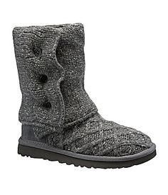 UGG Australia Womens Lattice Cardy Sweater Boots #Dillards