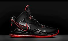 8 Black Red
