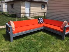 DIY Outdoor Furniturel Budget friendly $300  - YouTube Made with 2x4's