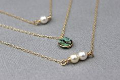 Hey, I found this really awesome Etsy listing at https://www.etsy.com/listing/234659136/gold-layering-necklace-turquoise-pendant