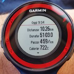 #instarun #igrunners @garmin @garminitaly #igersitalia #igrunner #training #corsa #instarace #followme #followforfollow #forerunner #fr220 #nessunascusa #runlover @justrunnnxc #instamarathon #maratona #runnerscommunity #domenica #sunday