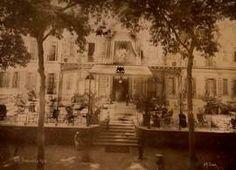 Shepheards' Hotel, Cario - P. Sebah, ca. 1880