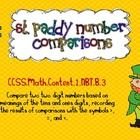 This St. Patrick's Day themed freebie was created to provide practice comparing 2-digit numbers (CCSS. 1NBT.B.3) Visit my blog, mrsholdersfirstgrad...