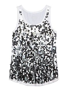 Liv's birthday outfit? | Girls Clothing | Tanks & Bandeaus | Sequin Embellished Tank | Shop Justice
