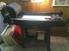 Vandercook series 20 or 21 roller proof press