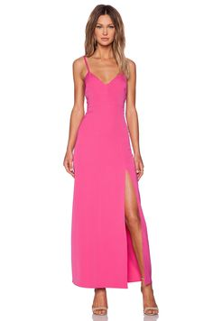 NBD NBD x Naven Twins Honey Maxi Dress in Pink | REVOLVE