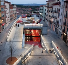 Indoor and outdoor performing and gallery multipurpose spaces. Project - Teruel-Zilla - Architizer