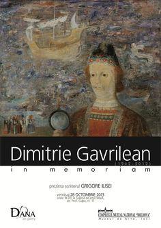 Expoziție dedicată artistului DIMITRIE GAVRILEAN, la Galeria de artă DANA