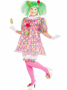 Tickles The Clown Costume | Wholesale Clown Costumes for Adults
