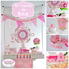 Candy bar communion para Ana. First communion Candy bar
