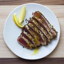 Norman Van Aken - Yellowfin-Tuna Escabeche with Spicy Pineapple Vinaigrette, this is SO happening.