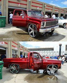 #whipcentral ⛩ @bhindthascenez S10 Truck, C10 Chevy Truck, Ford Pickup Trucks, Gm Trucks, Chevy Silverado, Pimped Out Cars, C10 Stepside, Custom Chevy Trucks, Bandana Styles