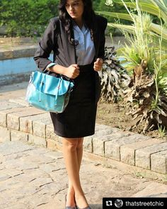 Our super fashionable blogger @thatstreetchic shows us how to do formals in style  #Repost @thatstreetchic with @repostapp  Beat the monday blues in style!  Good Morning instafam   Blazer: @mango Shirt and skirt: @zara . . .  #delhi #delhibloggers #india #indian #indianblogger #delhidairies #blogger #blog #wordpressblogger #fashion #fashionblog #fashionblogger #lifestyleblogger #instadaily #instagram #instafamily #instapic #like4like #thatstreetchic #colourpop #classy…