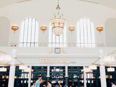 Terminal bar in Union Station. Denver, CO.