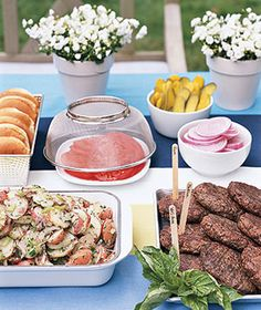 Easy Backyard Entertaining