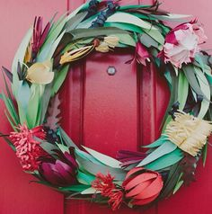 Join me on Thursday 26th November at The Windsor Workshop where I'll share with you my paper sculpture process with you to create an Australian Natives paper flower Christmas wreath! AND take a friend for 50% off!
