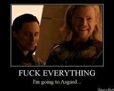 Im going to to Asgard