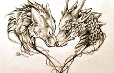 Trendy Tattoo Ideas For Couples Wolf Ideas Tatouage Game Of Thrones, Game Of Thrones Tattoo, Dragon Wolf, Rune Tattoo, Dragon Tattoo For Women, Gaming Tattoo, Wolf Tattoos, Heart Tattoos, Dragon Tattoos