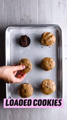 Fun Baking Recipes, Sweet Recipes, Cookie Recipes, Dessert Recipes, Yummy Food, Tasty, Food Cravings, Easy Desserts, Fudge