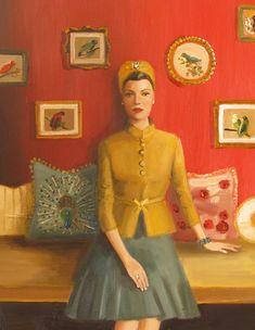 La matriarca di Black Walnut Manor.  Janet Hill