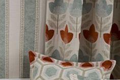 Radiance Geometrics #geometrics #stripes #interiors #design #Simpson #tealblues #burntorange