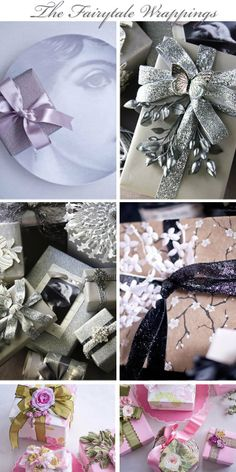 christmas gift wrapping fairytale