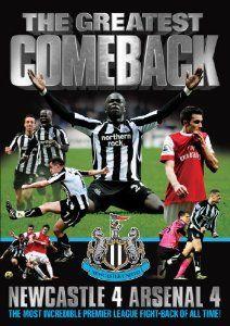 Newcastle United 4 - 4 Arsenal 5th February 2011 DVD: Amazon.co.uk: DVD & Blu-ray