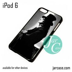 Alice Cooper With Magician Hat iPod Case For iPod 5 and iPod 6