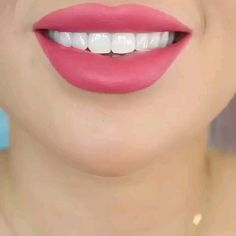 Over 70 lip makeup ideas to use every day * 55 natural lip makeup, lips . Thin Lips, Bold Lips, Dark Lips, Glossy Lips, Natural Lips, Natural Makeup, Barbie Make-up, Bold Lip Makeup, Makeup Art