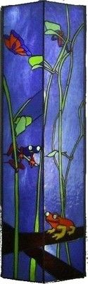 Frogs Original Stained Glass Art by Robert | eBay