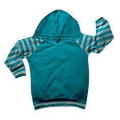 Long sleeve teal stripes Light weight t shirt by Allsnazziedup